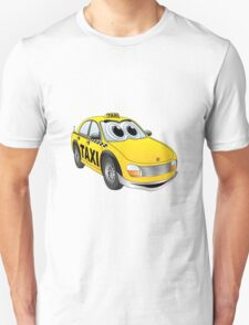 Taxi Cab Cartoon T-Shirt