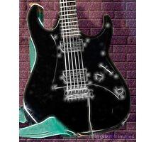 Electric Guitar Photographic Print