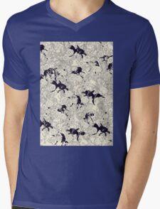 Hide and Seek Mens V-Neck T-Shirt