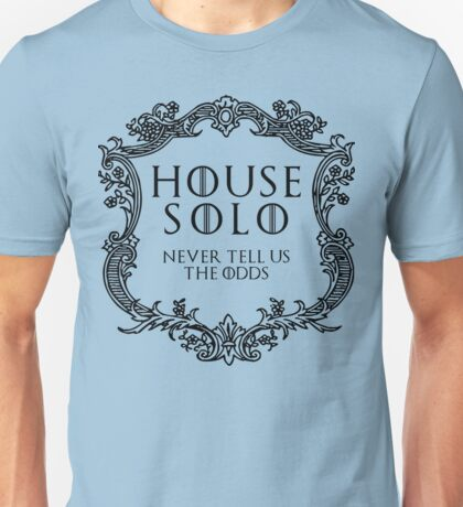 House Solo (black text) Unisex T-Shirt