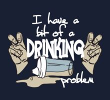 DRINKING PROBLEM One Piece - Short Sleeve