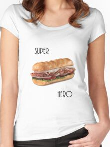 Super Hero Women's Fitted Scoop T-Shirt