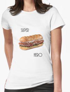 Super Hero Womens Fitted T-Shirt