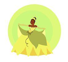 Princess Tiana by hilarydewitt