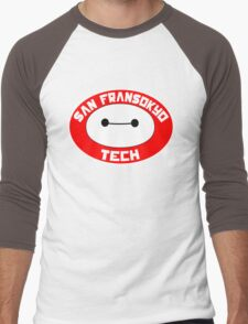 San Fransokyo Institute of Tech Men's Baseball ¾ T-Shirt