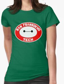 San Fransokyo Institute of Tech Womens Fitted T-Shirt