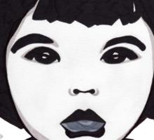 Baby Bjork t-shirt Sticker