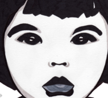 Baby Bjork t-shirt Sticker