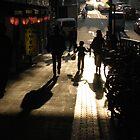 sunset tokyo city by CathySurgeoner