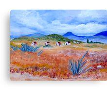 Hoekoe Valley Canvas Print