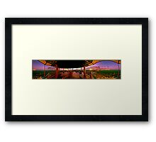 FuLL 360 FRoM WiLDHoRSE MouNTaiN Framed Print