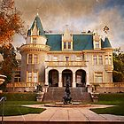 Kimberly Crest Manor, Vintage View by Glenn McCarthy