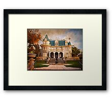 Kimberly Crest Manor, Vintage View Framed Print