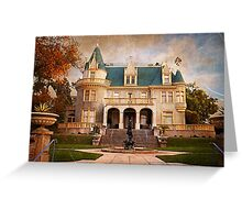 Kimberly Crest Manor, Vintage View Greeting Card