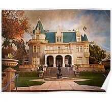 Kimberly Crest Manor, Vintage View Poster