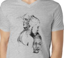 Dance of the Three Mens V-Neck T-Shirt