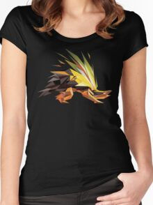 Porymon | Typhlosion Women's Fitted Scoop T-Shirt