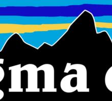 Sigma Chi - Patagonia  Sticker