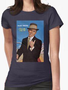 Frank Sinatra Legendaris of Singer Womens Fitted T-Shirt