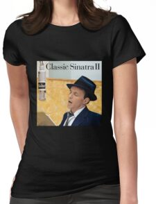 Frank Sinatra The Best of Singer Womens Fitted T-Shirt