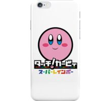 Kirby and the Rainbow Curse iPhone Case/Skin