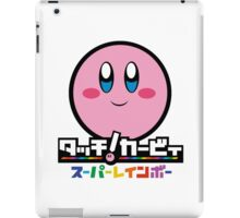 Kirby and the Rainbow Curse iPad Case/Skin