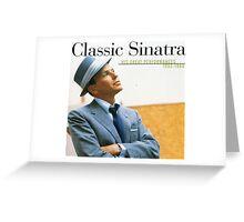 Frank Sinatra His Great Performances 1953-1960 Greeting Card