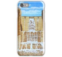Wholemeal Falls iPhone Case/Skin