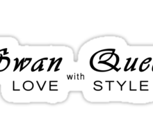 Swan Queen - Love with Style Sticker