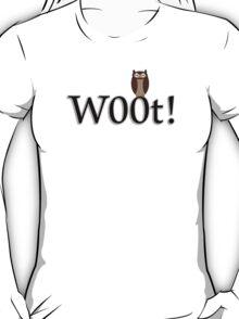 W00t Owl Design #1 Tee T-Shirt