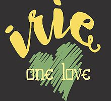 Jamaica Irie  One Love  by junkydotcom