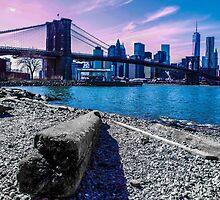 Pastel Brooklyn Bridge by itsteeef