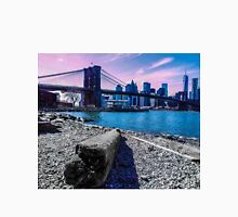 Pastel Brooklyn Bridge Unisex T-Shirt