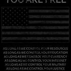 You Are Free by tinaodarby