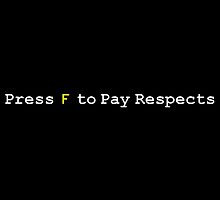 CoD: Advanced Warfare - Press F to Pay Respects by JoCa-byJoeCarr