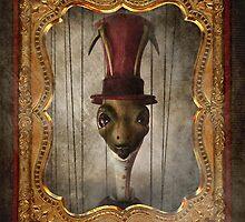 Sir Cricket's Portrait by Aimee Stewart