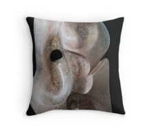 Female form in Steatite Throw Pillow