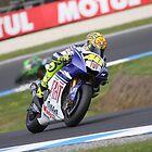 Rossi Journey to Champion 2008 by Mirko Mujica