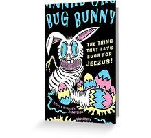 Bug Bunny Greeting Card