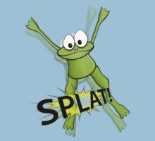 Frog Splat Tee by BluAlien