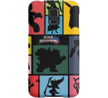 Super Smash Bros. For Wii U And 3DS: Roster Samsung Galaxy Case/Skin