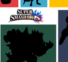 Super Smash Bros. For Wii U And 3DS: Roster Sticker