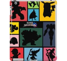 Super Smash Bros. For Wii U And 3DS: Roster iPad Case/Skin