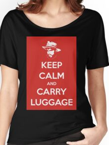 Keep Calm And Carry Luggage Women's Relaxed Fit T-Shirt