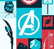 avengers minimalist by OnyxMayMay
