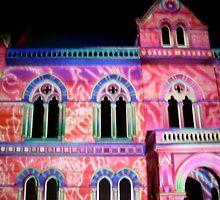 Neon Pattern Building by emmasm02