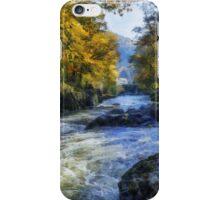Autumn River Valley iPhone Case/Skin
