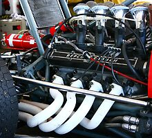 Repco V8 engine - Elfin 600C by Geoff Russell