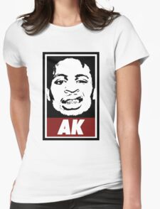 AK (the underachievers) Womens Fitted T-Shirt