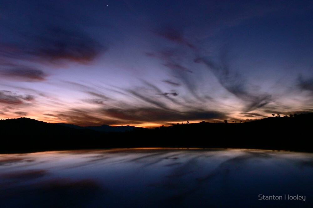 Tharwa Sunset by Stanton Hooley